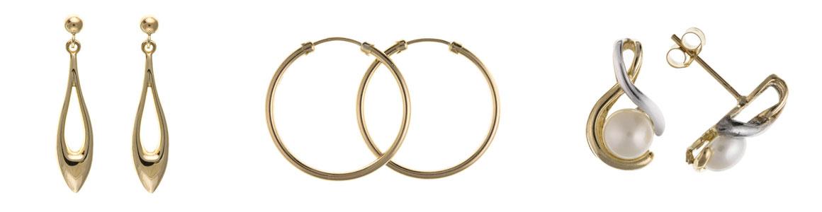 Planet Gold Banner - Earrings