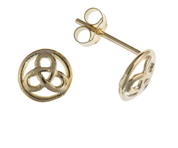 Planet Gold - Gold Earrings - Celtic