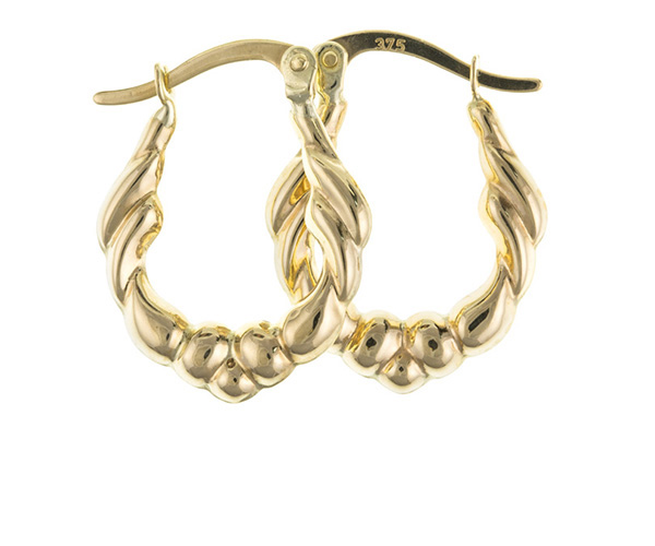Planet Gold - Gold Earrings - Creole