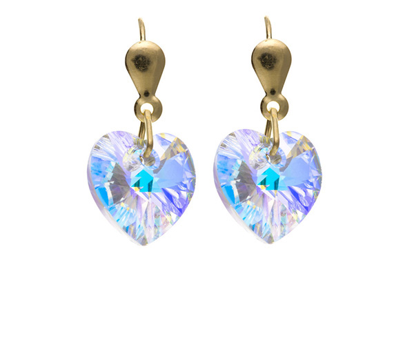 Planet Gold - Gold Earrings - Crystal