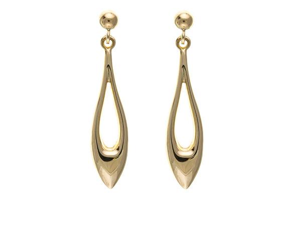 Planet Gold - Gold Earrings - Dropper