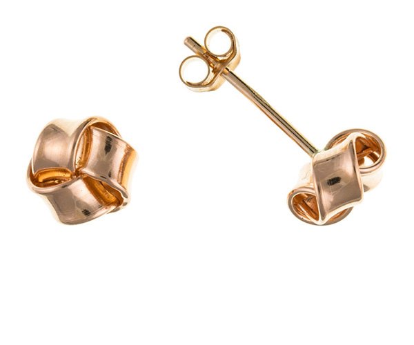 Planet Gold - Gold Earrings - Red Gold