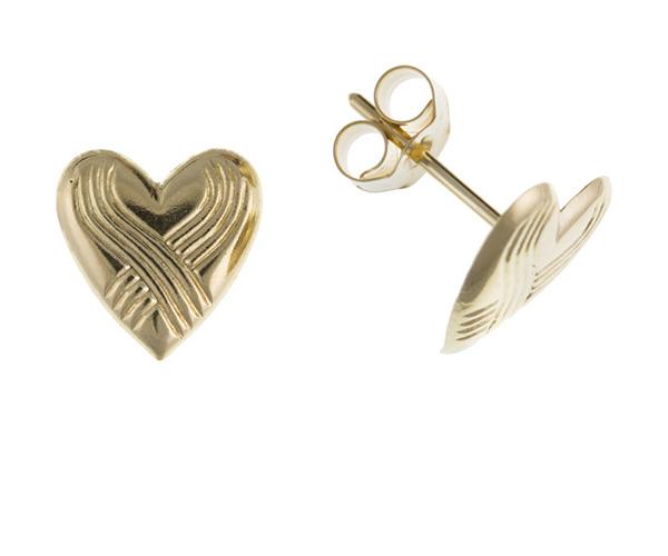 Planet Gold - Gold Earrings - Stud