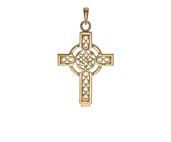 Planet Gold - Gold Pendant - Celtic