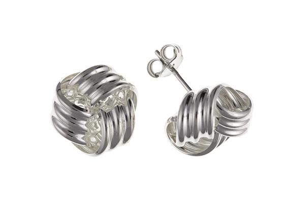 Planet Gold - Silver Earrings