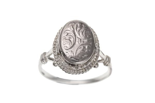 Planet Gold - Silver Locket - Ring