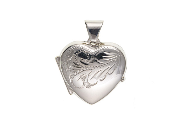 Planet Gold - Silver Locket - Traditional
