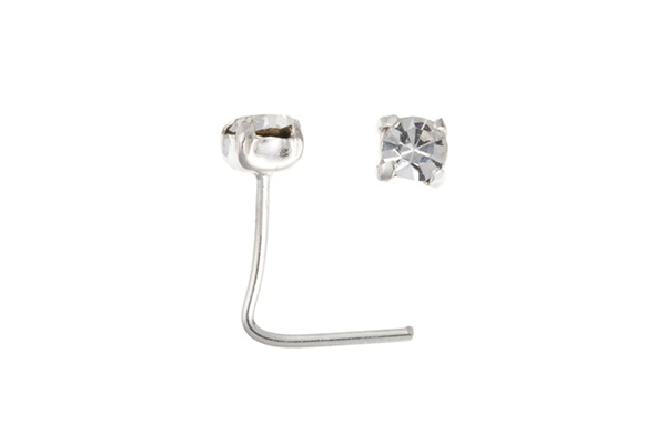 Planet Gold - Silver Nose Stud
